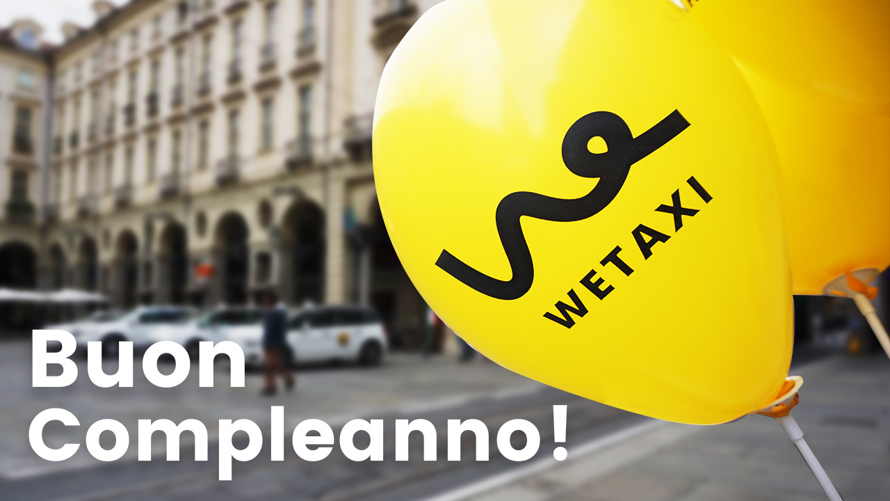 Buon compleanno Wetaxi