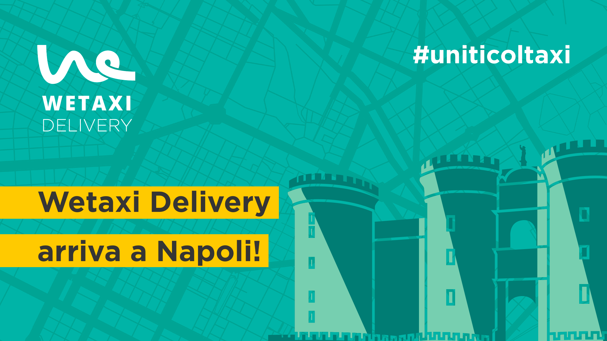 Wetaxi Delivery a Napoli
