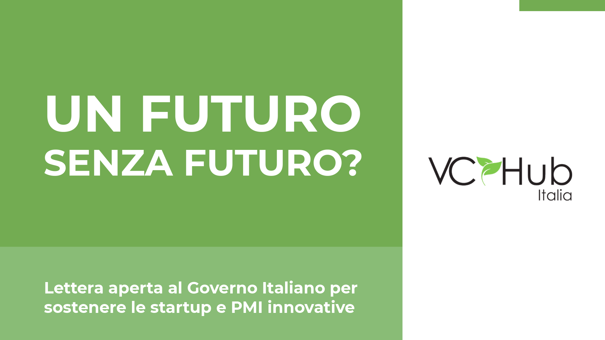 VC Hub - Futuro senza futuro