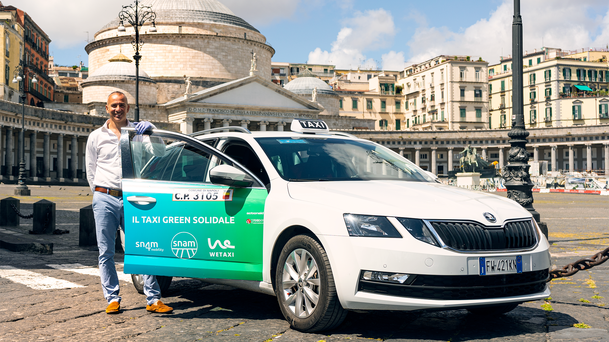 I Taxi Green Solidali per ripartire in modo sostenibile