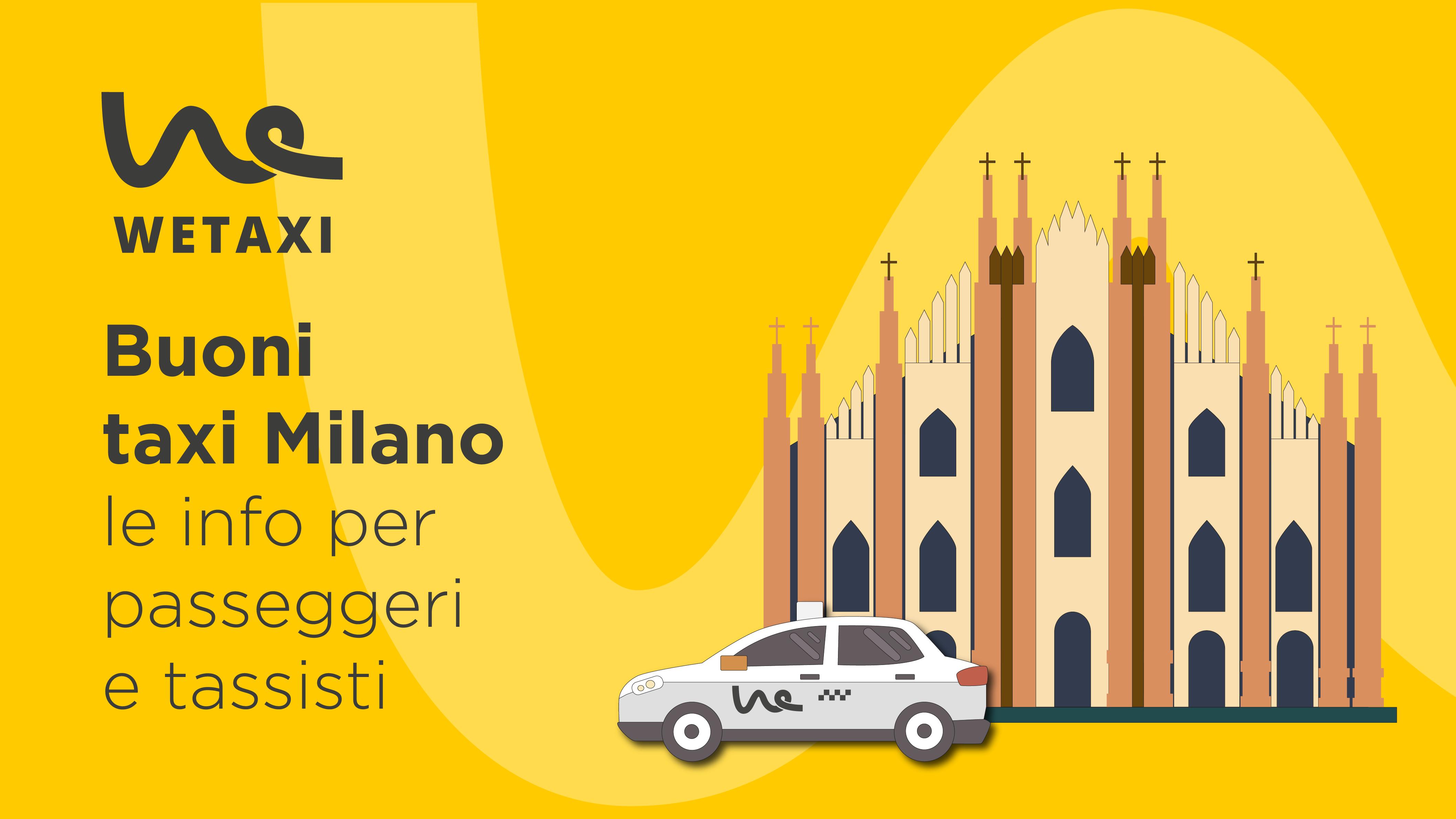 Buoni taxi Comune di Milano