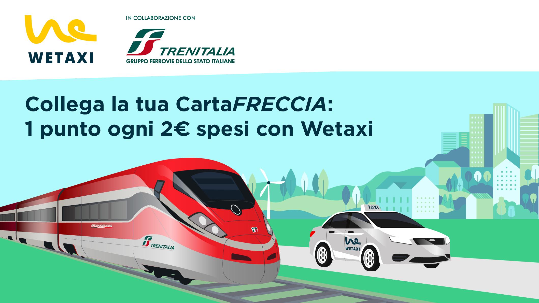 Wetaxi e Trenitalia